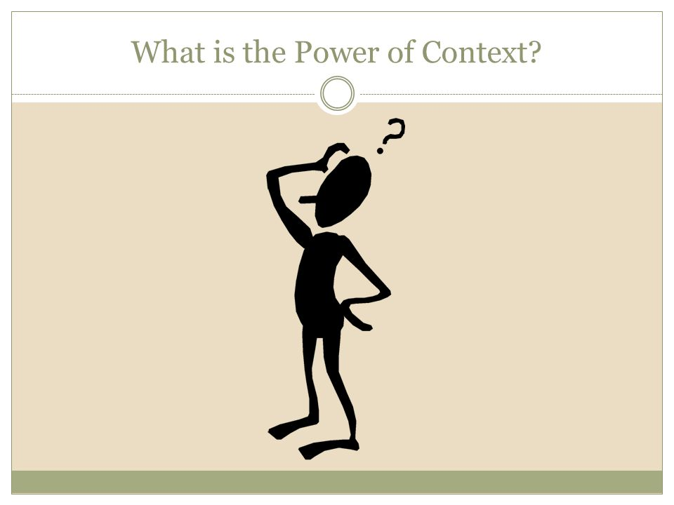 power context gladwell essays